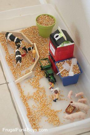 Farm Sensory Play Activity for Preschoolersandrea
