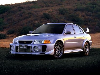Mitsubishi Lancer GSR Evolution V (1998).