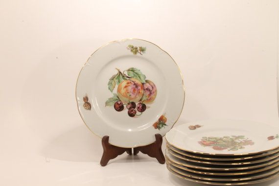 50% OFF SALE:  JLMENAU PlatesDessert Plate by ClockworkRummage