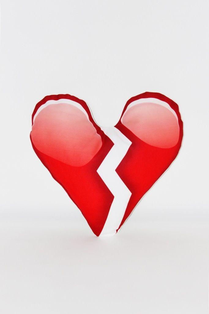 Kırık Kalp Emoji Yastık | 14 ŞUBAT | Moda Fabrik