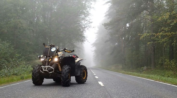 Can-am Renegade Morning mist