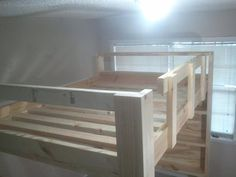 How To Build A Full Size Loft Bed – more ideas for bunks