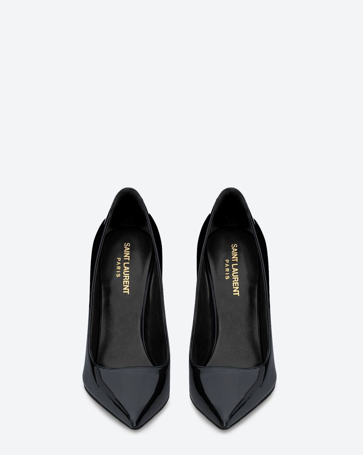 Saint Laurent Paris Patent Leather Pumps