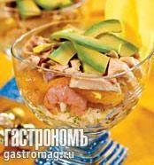 Салат из авокадо и манго, пошаговый рецепт с фото