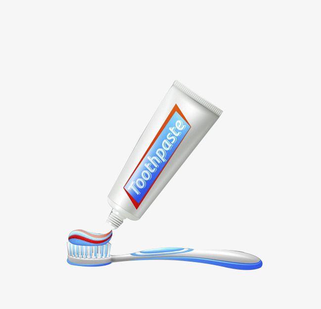 معجون أسنان وفرشاة أسنان Toothpaste Brushing Teeth Toothbrush Clipart