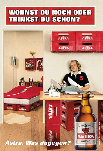 Astra | Make a house a home. #advertisement #kreative #werbung