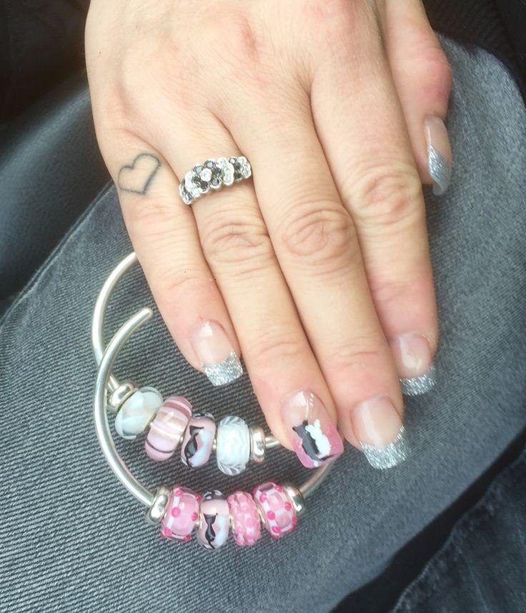 #mytrollbeads #nails #pink #trollbeads #troldekugler #cats #smykker #jewelry
