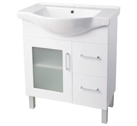 Momento Semi-Recessed 750 Vanity (On Kick or Legs) | Bathroomware House