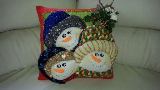 Trio de nieve.