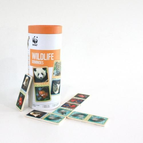 This game includes 28 FSC plywood domino tiles.  You can build your domino rainforest as you match up animal images.  Amazon Dominoes include FSC wood dominoes and an attractive tube storage case with rope handle for easy transport.  A Great summer time holiday activity.