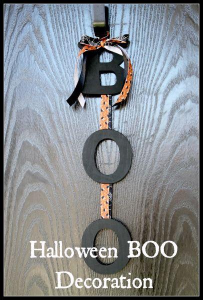 Halloween BOO decoration