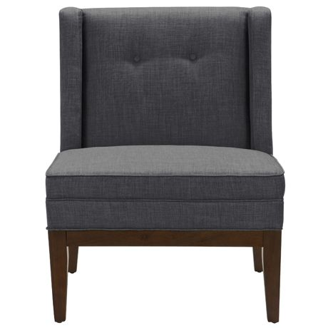 Astrid Chair in Dexter Licorice | Freedom Furniture and Homewares - $299