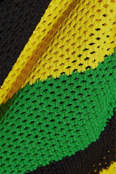 Proenza Schouler - Striped Open-knit Sweater - Yellow -