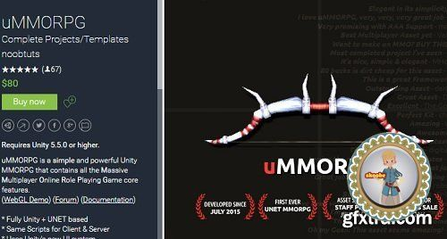 Unity Asset – uMMORPG uMMORPG is a simple and powerful Unity MMORPG that contains all the Massive Multiplayer Online Role Playing Game core features