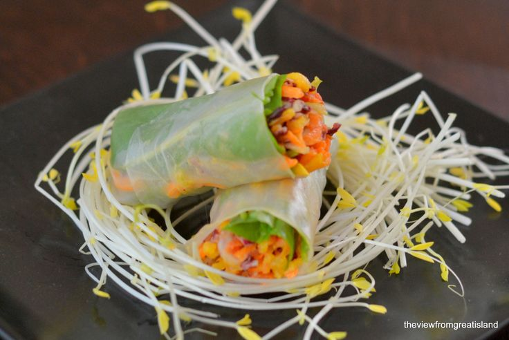 Spicy Asian Slaw Summer Rolls In the dead of summer, Vietnamese summer rolls are probably
