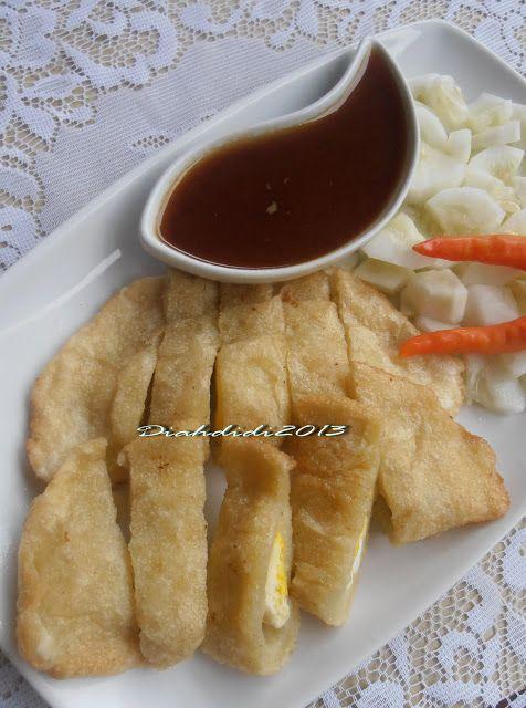 Diah Didi's Kitchen: Empek2 Dos..Empek - Empek Tanpa Ikan..Uenakk Juga Ternyata..^^