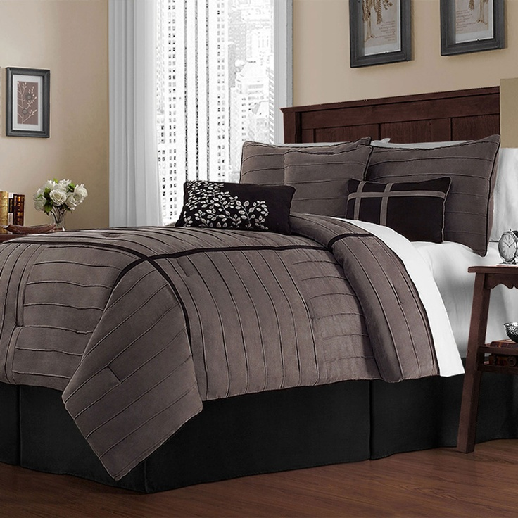 Victoria Classics Ellington Seven Piece Comforter Set In