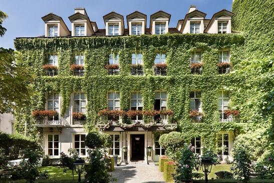 pavillon de la reine hotel, paris