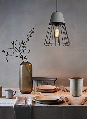 AFFILIATELINK CBJKTX Hängeleuchte esstisch Betonlampe Vintage