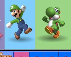 PlanetaMario.com - Juego: Luigi Colours Memory - Juegos de Mario Gratis Online