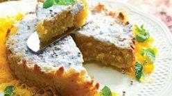 Queijada de leite e laranja | Receitas De Culinaria