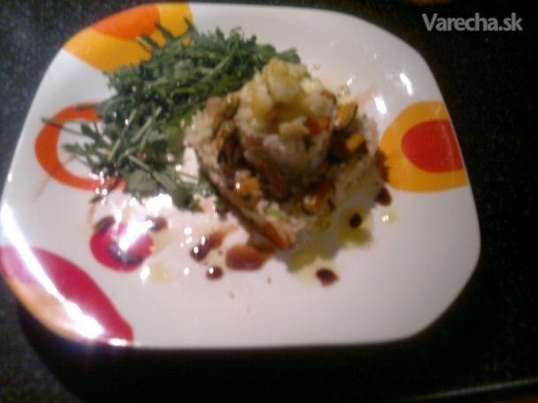 Zeleninové rizoto s morskými plodmi