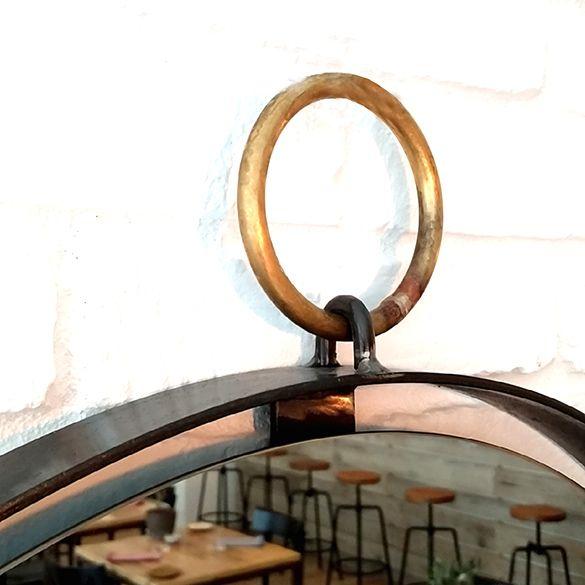 17 best images about specchi on pinterest shops window - Specchio stile industriale ...