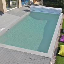 Liner pour piscine couleur tendance