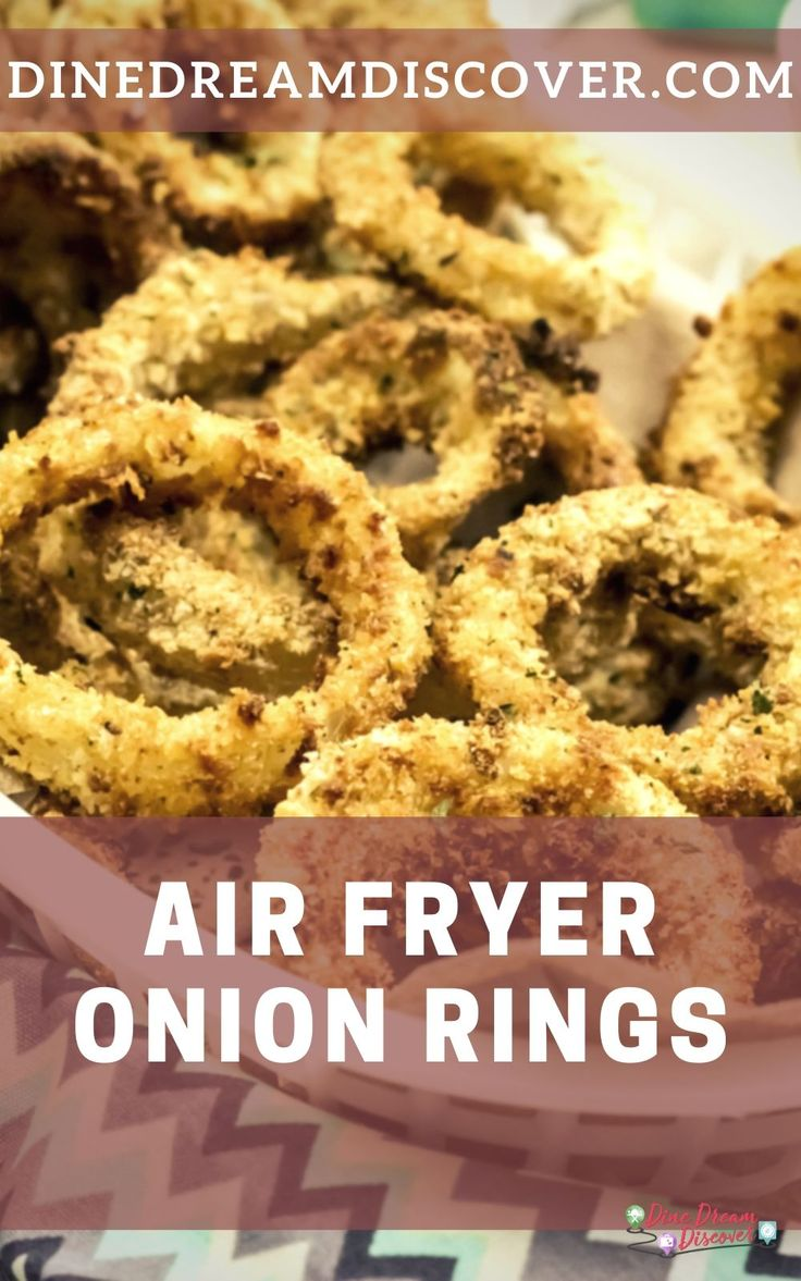 Air Fried Gluten Free Onion Rings Recipe Air frier