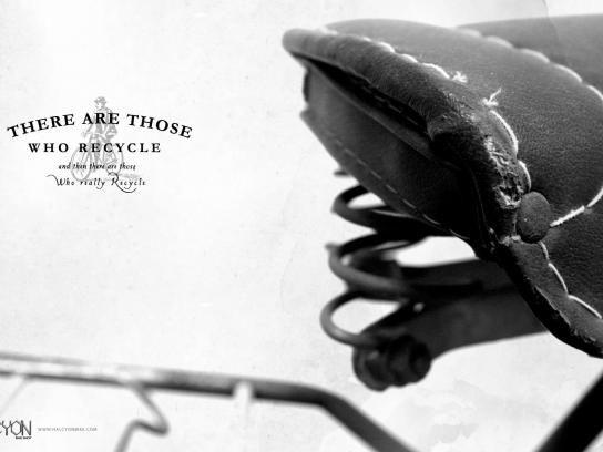 Halcyon Bikes:  Recycle