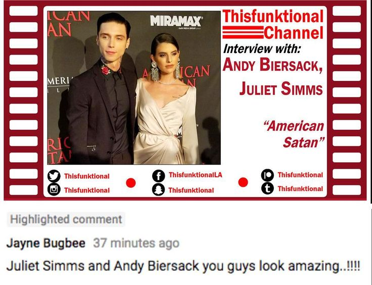 #Thisfunktional #Movie: Have you watched #AmericanSatan #Actor #AndyBiersack and his wife #JulietSimms talking with Thisfunktional? #Watch and #Share on #http://ift.tt/1G5dCyB and dont forget to #Subscribe for more videos. Thought Id share Jayne Bugbees #Comment meant for Andy and Juliet. #AmericanSatanMovie #Movies #Film #Films #Cine #Cines #Cinema #Cinemas http://ift.tt/1MRTm4L