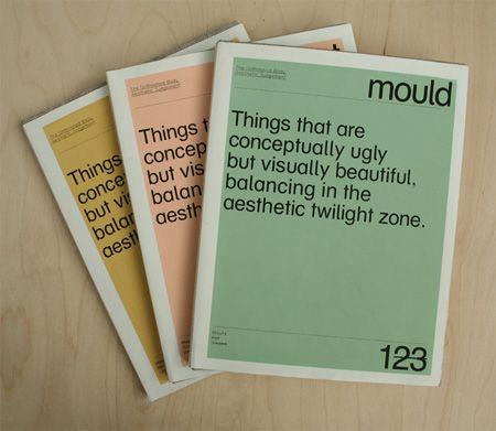 Excellent booklet by London based Swedish graphic designer Therese Vandling.