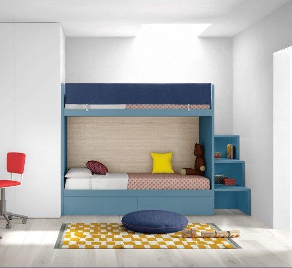 132 mejores im genes sobre twin rooms en pinterest - Habitaciones infantiles compartidas ...
