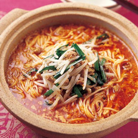 もやし入り担担麺 | 陳建一さんの料理レシピ | プロの簡単料理レシピはレタスクラブニュース