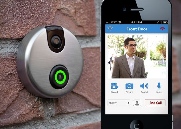 Front door cameras have been around for ages, but a Wi-Fi enabled doorbell camera? Now that's something entirely new, and that's exactly what we have with