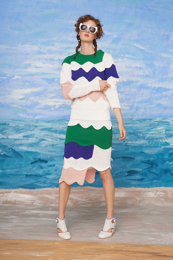 Tsumori Chisato Resort 2018 Collection Photos - Vogue