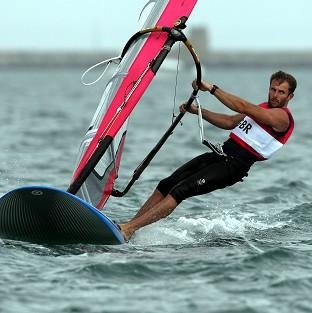 Sailing: In the Men's RS:X Nick Dempsey bring us a Silver!
