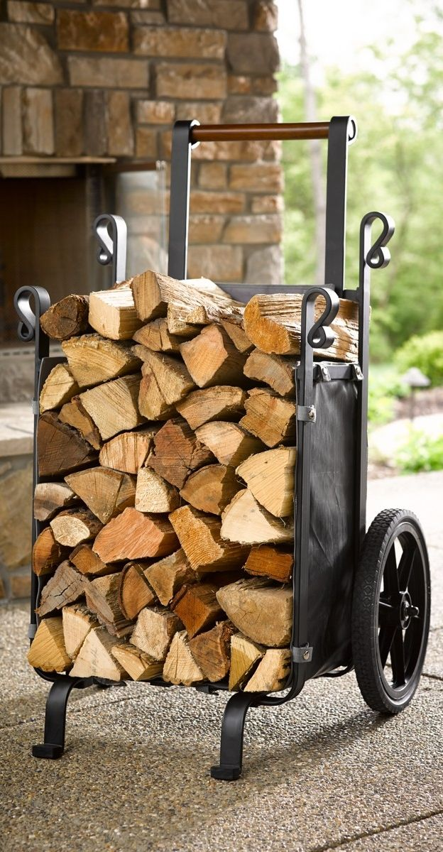 Save trips – and your back – when moving large loads of logs with our exclusive, heavy-duty Firewood Companion.
