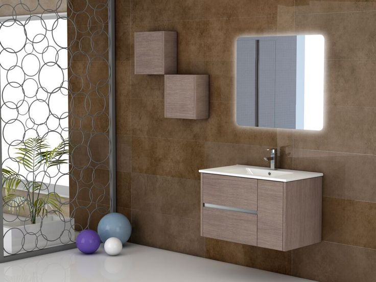 Eviva Aries® 32″ Medium Oak Modern Bathroom Vanity Wall Mount with White Integrated Porcelain sink The modern design of the wall-hung (mount) Eviva Aries® 32 inch bathroom vanity is outstanding, Moreover the Aries line is a made in spain bathroom vanity with soft closing hinges and high quality coated finish to keep its new condition. The vanity features an integrated white ceramic sink that has no maintenance to be done. Constructed from Eco-friendly engineered wood with a very high…
