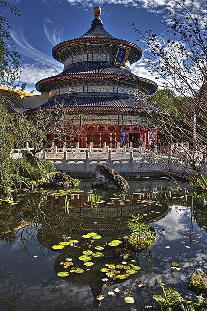 temple of heaven in China - worked here- it's amazing.
