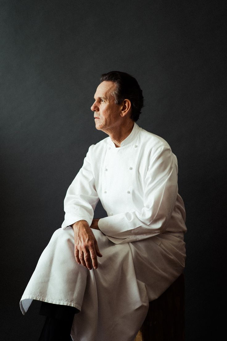 Thomas Keller by William Hereford. My favorite chef....