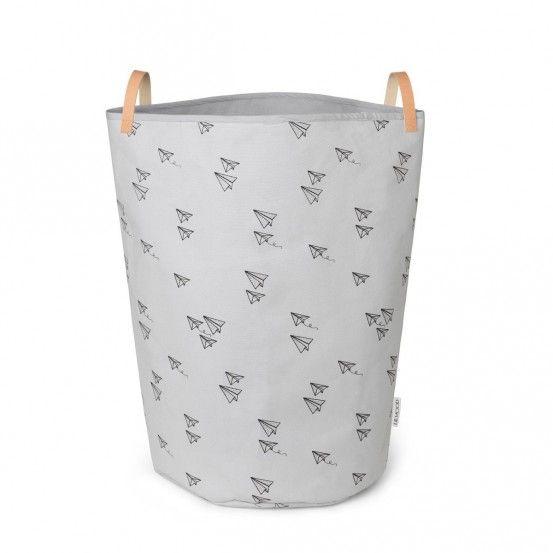 Liewood Ann Fabric Basket Paper Plane, 500kr