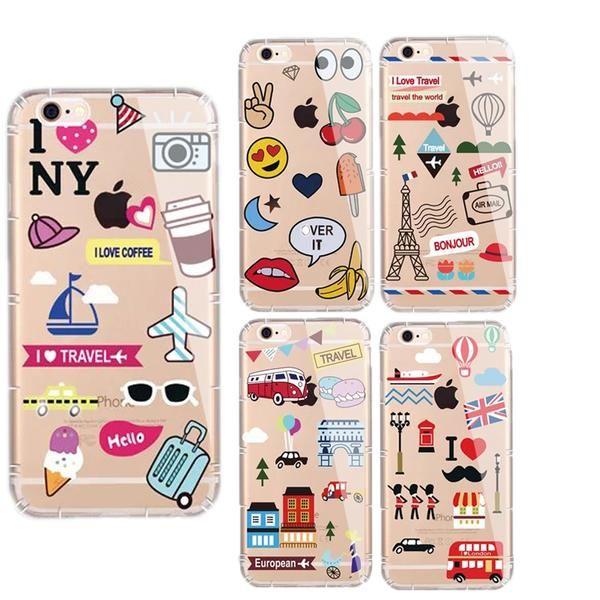 coque iphone 7 plus travel   Phone cases protective, Iphone 7 plus ...