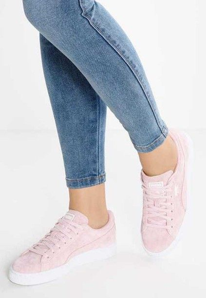 FANCY SALE:  shoes puma puma sneakers suede sneakers suede puma suede classic puma suade pink pink pink sneakers  (Click on photo to see more ...)