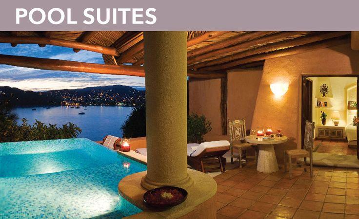 Suite grandsuite : La casa que canta hotel Ixtapa Zihuatanejo : Luxury suite hotel Ixtapa Zihuatanejo, 5 stars suite hotel Ixtapa Zihuatanejo
