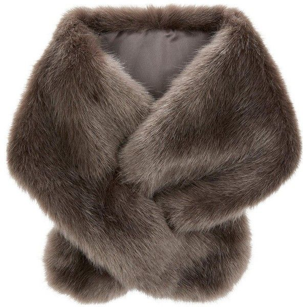 Accessorize  Serena Faux Fur Tippet Scarf (1 110 UAH) ❤ liked on Polyvore featuring accessories, scarves, fake fur scarves, faux fur shawl, accessorize scarves, fake fur shawl and faux fur scarves