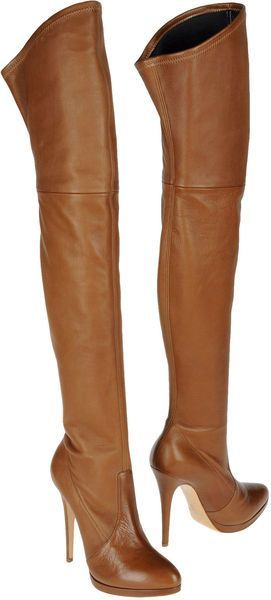 Brown Thigh Boots