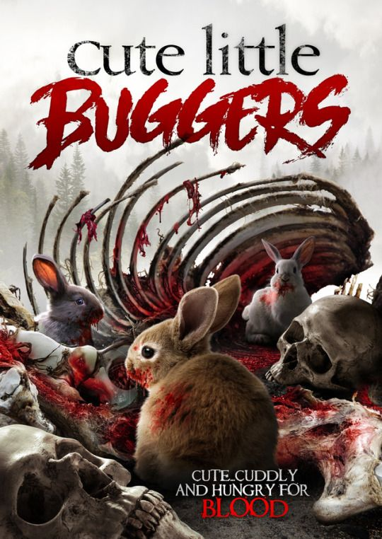 """Mutant rabbits attack in Cute Little Buggers. Described as """"Gremlins meets Hot Fuzz,"""" the British horror-comedy will be released on VOD on November 7 via Uncork'd Entertainment.    Genre favorite Caroline Munro (Maniac, The Spy Who Loved Me) is among the cast, which also includes Honey Holmes, Dani Thompson, Gary Martin, and Kumud Pant. Tony Jopia directs."""