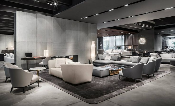 Milan furniture design news introducing new minotti 2015 collection furniture by and design - Stylish penthouse interior design introducing the charming minimalism ...