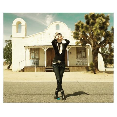 • STEVIE DEFELICE x KERCHIEF LEATHER NECK TIE • Two Pines Chapel , California aka Tarantino's Kill Bill church ⛪️ @ayomissd  @benboyle @accessories_byg #killbill #tarantino #accessoriesbyg